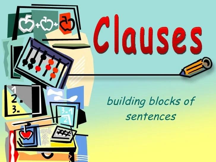 Grammar Clauses