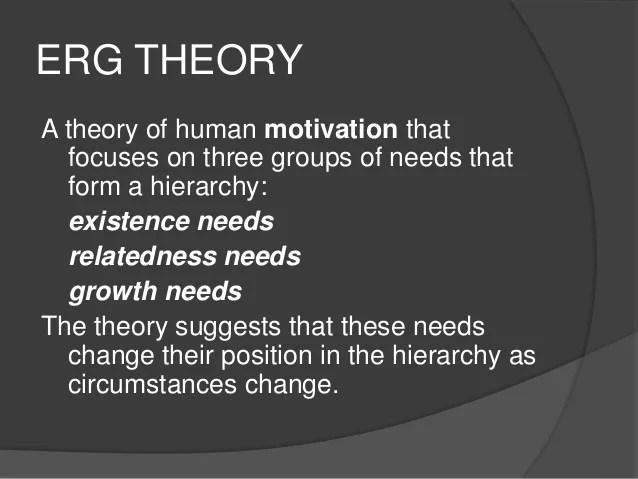 Relatedness Needs Erg Theory
