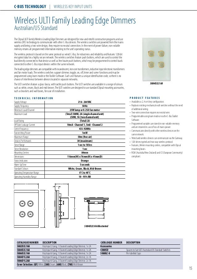 cbus dali wiring diagram fuel pump 2000 chevy silverado clipsal control system 2008 c bus