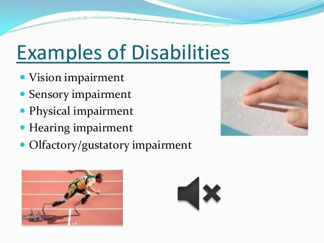 Vision Examples Impairments