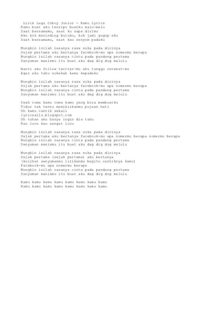 Download Lagu Kamu Coboy Junior : download, coboy, junior, Coboy, Junior