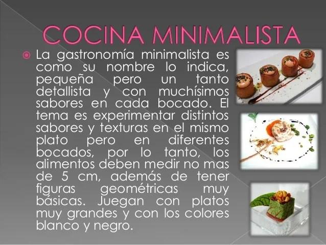 Cocina fusion y minimalista