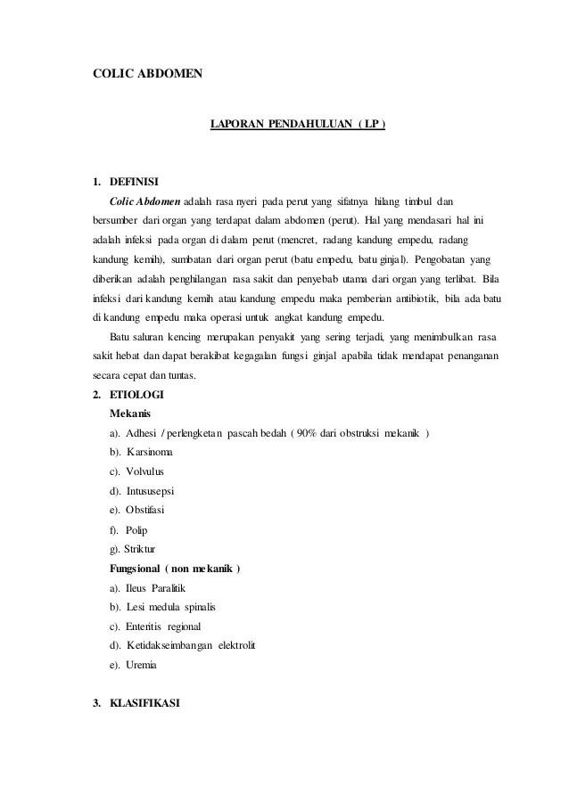 Patofisiologi Kolik Abdomen : patofisiologi, kolik, abdomen, Colic, Abdomen