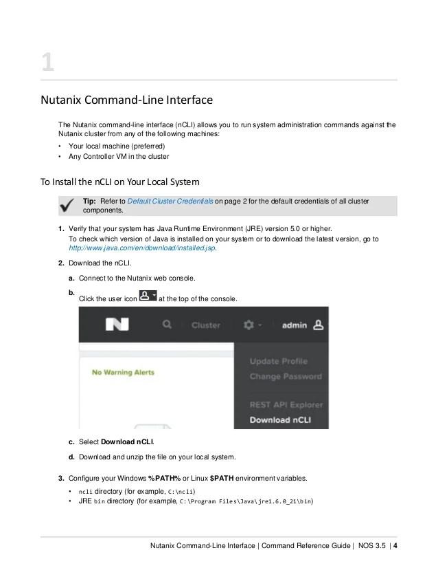 Command reference nos-v3_5