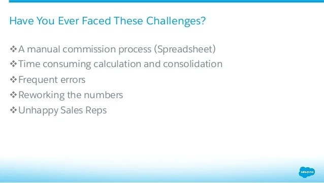 Commission Tracking: Automate Using Process Builder, Formulas and Wor…