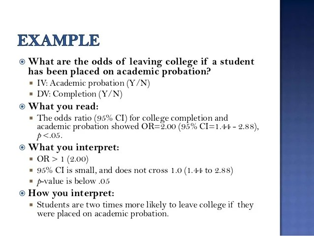 Commonly Used Statistics In Survey Research