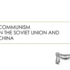 Communism Vs Socialism Venn Diagram 2006 Honda Accord Ac Wiring In Ussr And China Comparison