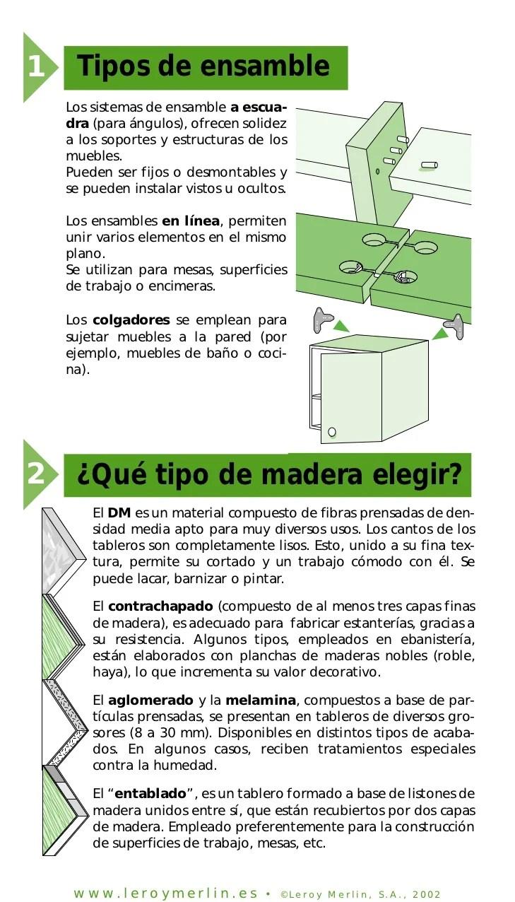 Como Ensamblar Muebles