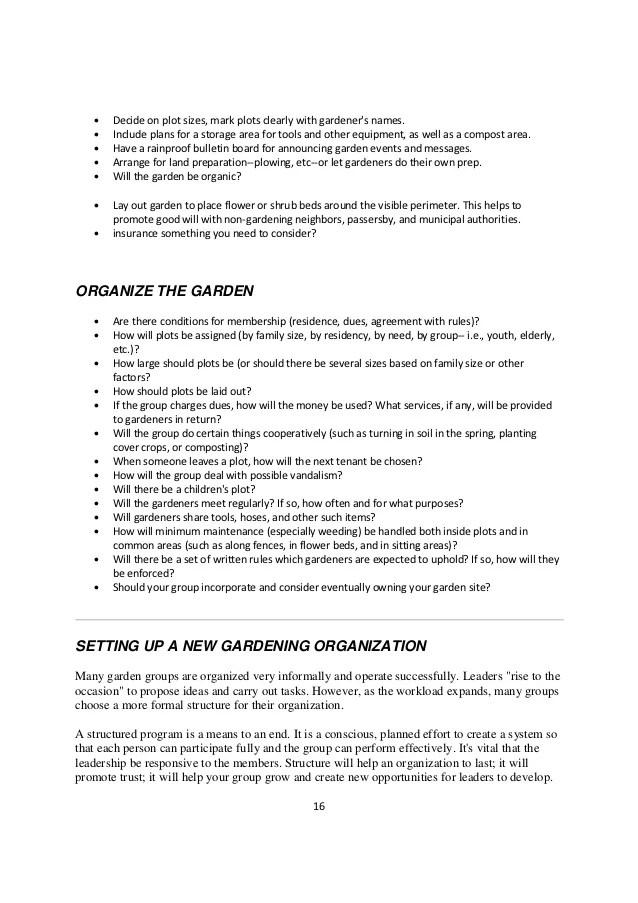 Grow Lexington Community Garden Resource Manual