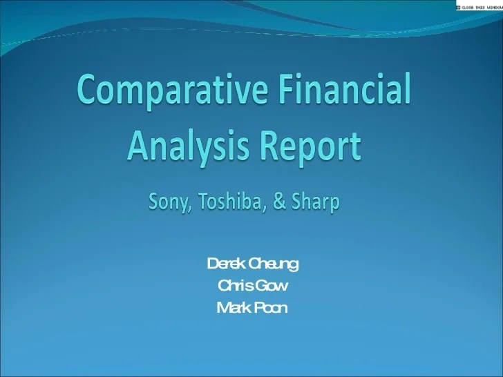 Comparative Financial Analysis Report