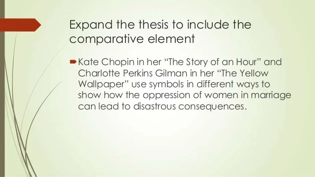 character analysis of the story of an hour by kate chopin Analysis of kate chopin's  kate chopin uses figurative language to create a main character or idea that  kate chopin the story of an hour critical analysis.