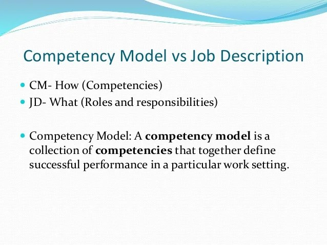 Job Knowledge Competencies
