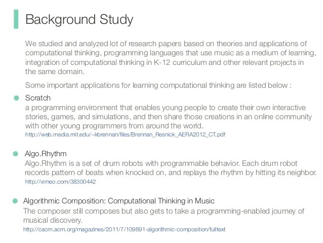 Research Paper Background Samples