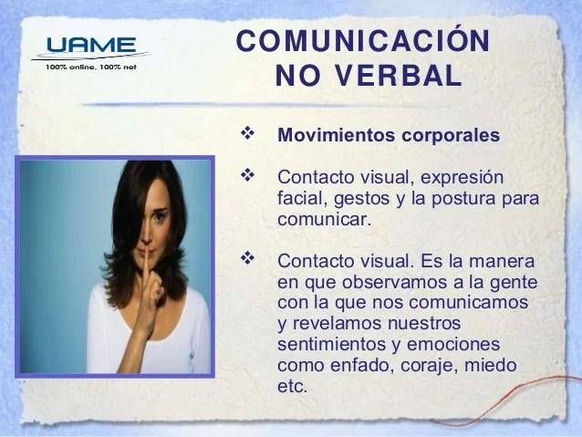 Comunicacin verbal y no verbal sesin 9 y 10