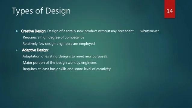Concept In Engineering Design