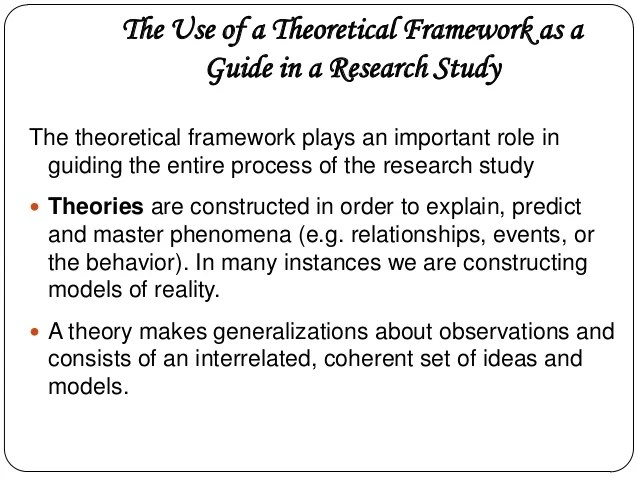 Conceptual And Theoretical Framework