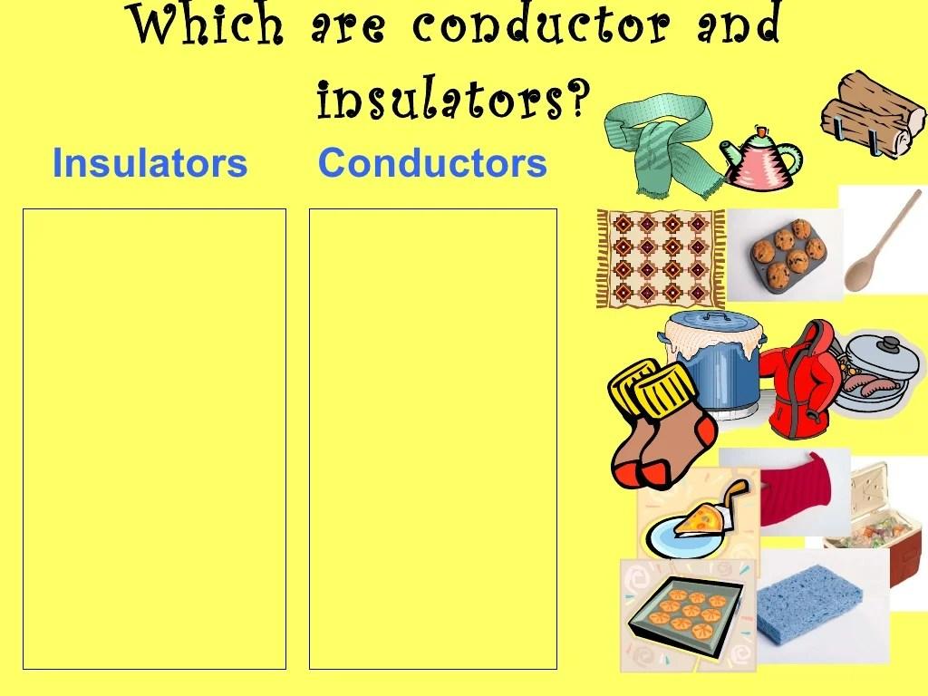 Conductor And Insulators