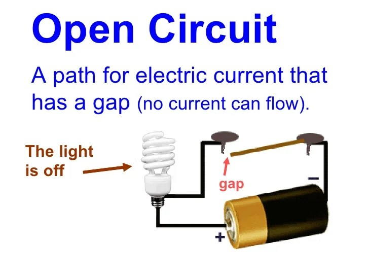 Electric Circuit Diagram For Kids