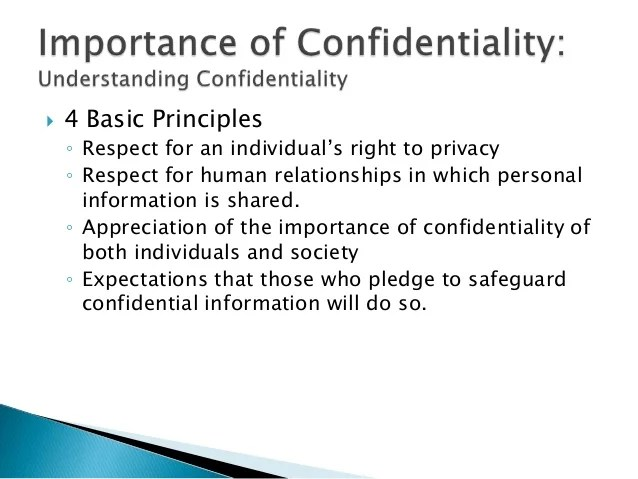Importance Policy Information Security