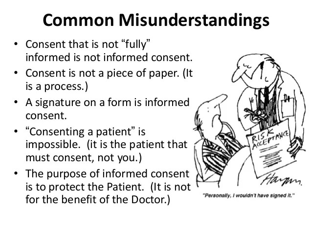 Consent In Surgical Patient