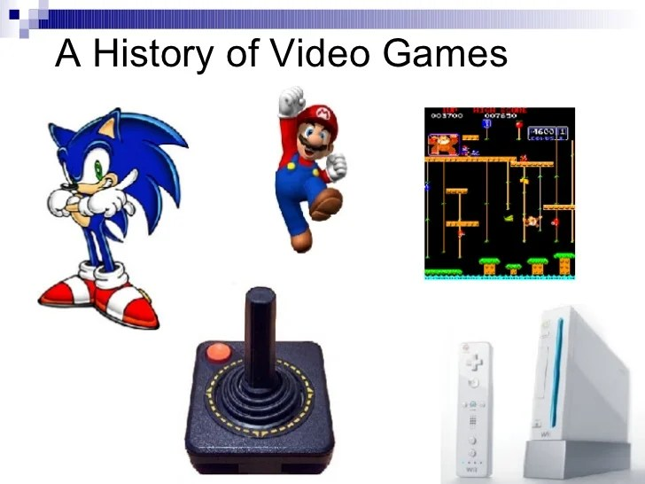 Console Video Game History