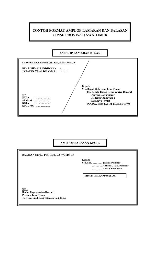 Alamat Di Amplop : alamat, amplop, Contoh, Amplop-lamaran-cpns-2012
