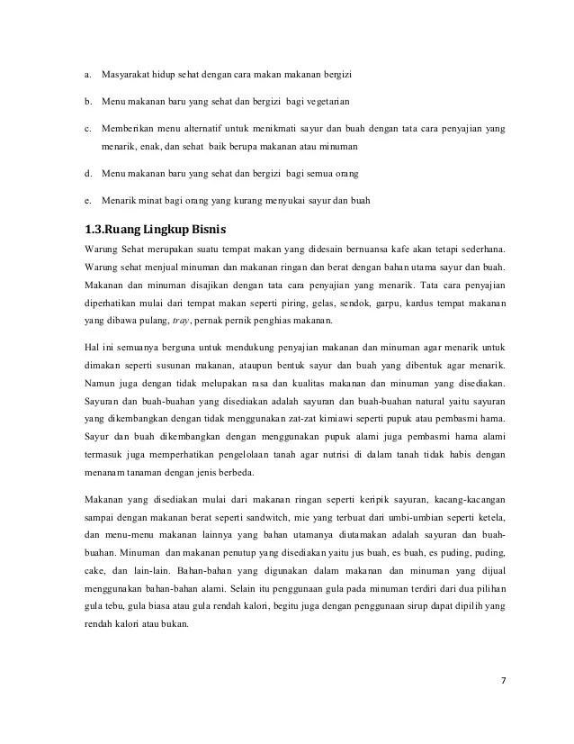 Contoh Executive Summary Laporan Rasmi B Cute766