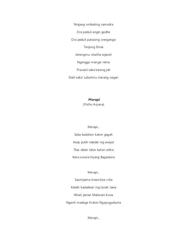 Puisi Bahasa Jawa Tentang Lingkungan : puisi, bahasa, tentang, lingkungan, Contoh, Geguritan, Bahasa, Fontoh, Dokter, Andalan