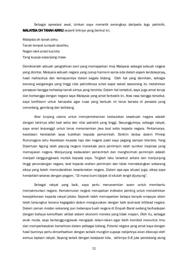 Contoh Karangan Malaysia Tanah Airku Contoh Perdana Cuitan Dokter