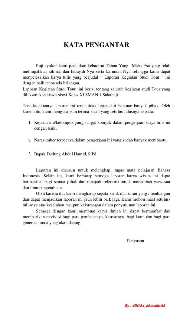 Contoh Laporan Kegiatan Study Tour Ke Yogyakarta Dalam Bahasa Sunda Seputar Laporan Cute766
