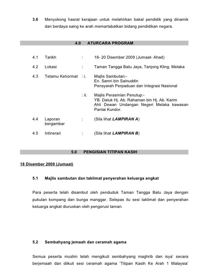 Contoh Laporan Seminar Rasmi Re Cute766