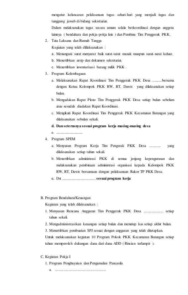 Contoh Pokok Pokok Laporan : contoh, pokok, laporan, Contoh, Laporan, Pelaksanaan, Kegiatan, Program, Pokok, Cute766