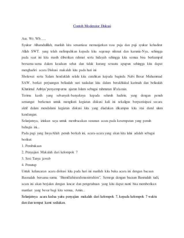 Contoh Teks Moderator Presentasi Dalam Bahasa Inggris Dan Artinya Dapatkan Contoh Cute766