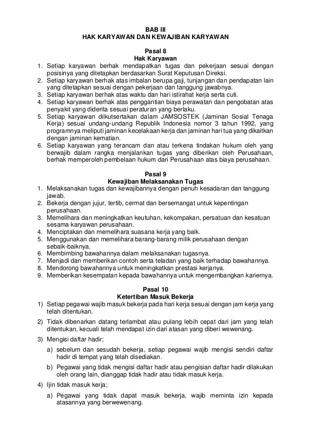 Contoh Peraturan Perusahaan Doc : contoh, peraturan, perusahaan, Contohperaturanperusahaanbucah, 130112082458-phpapp02