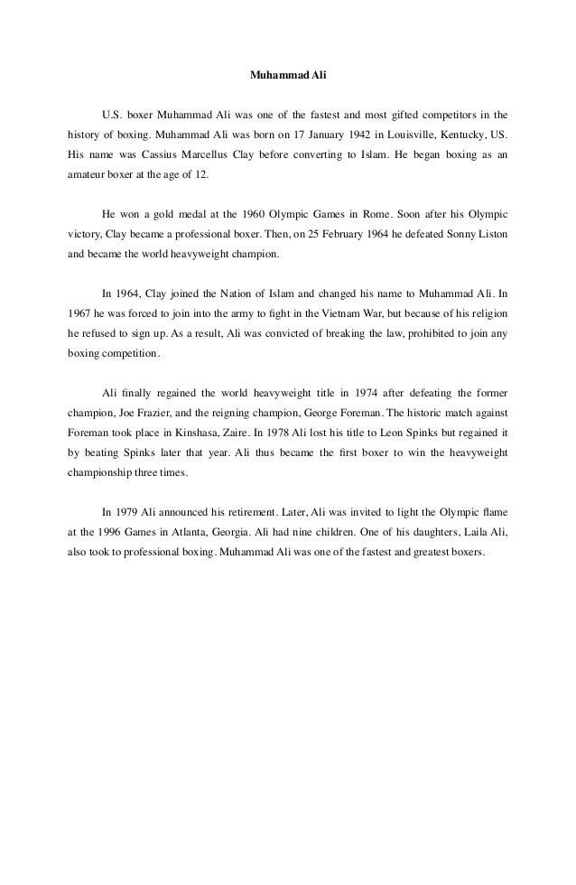 Contoh Recount Text : contoh, recount, Contoh, Recount, Muhammad
