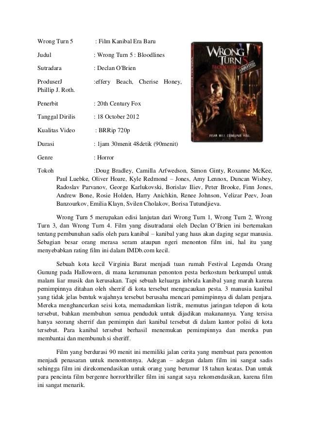 Contoh Resume Bahasa Indonesia Dan Inggris Contoh Resensi Buku