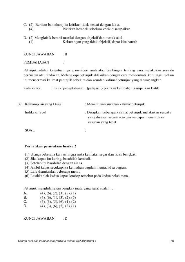 Soal Pilihan Ganda Surat Dinas Dan Pribadi Kumpulan