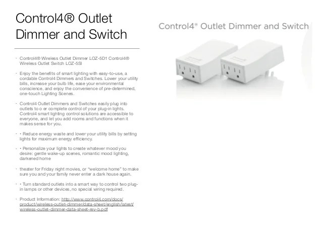 Control 4 Switch Wiring Diagram efcaviationcom