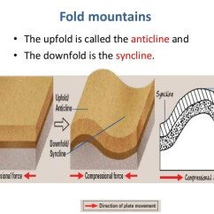 Diagram Of Fold Mountains Formation Cat Skeleton Labeled Convergent Boundaries 4 11