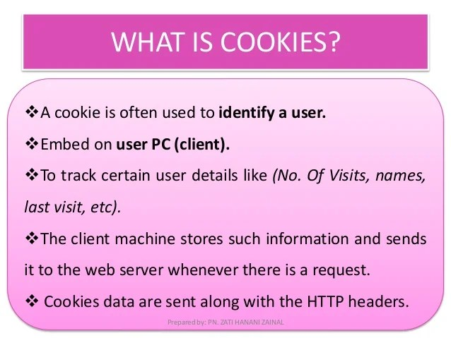 FP512 Cookies Sessions