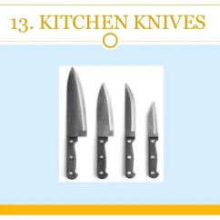 Kitchen Needs Mini Appliances Cooking Utensils List That Every Knives 62