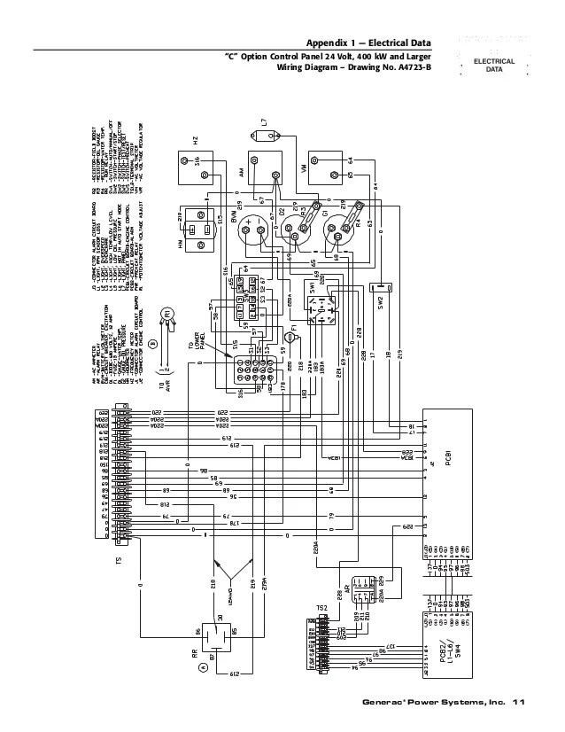 generac generator transfer switch wiring diagram chrysler infinity amp c option control panel operator's manual
