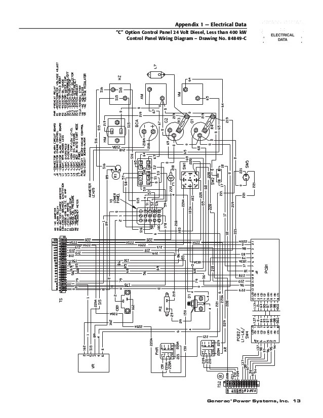 Generac 7000exl Wiring Diagram : 30 Wiring Diagram Images