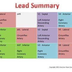 4 Lead Ekg Placement Diagram 91 Civic Fuse Box Coronary Arteries & 12-leads