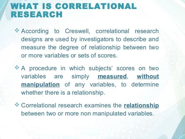 What Is Correlational Research Essay Coursework Academic Service