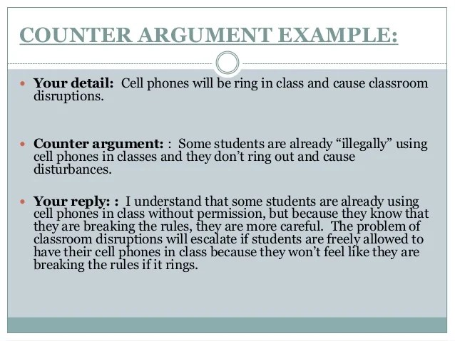 argumentative essay on cell phones