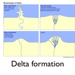 Diagram Of A Delta Landform Portuguese Man War Pictures Geography Kidskunst Info Flipped Lesson 1 The Course River