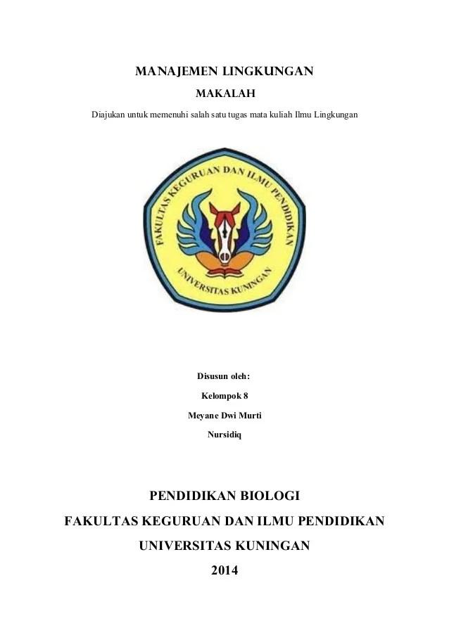 Contoh Makalah Tugas Kuliah Doc