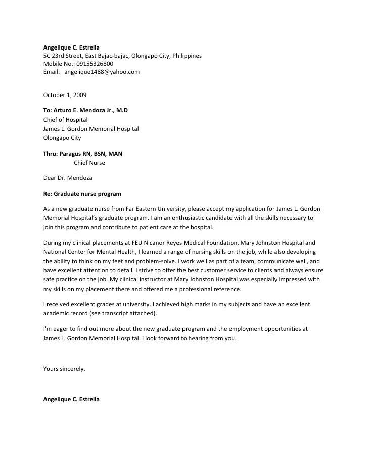 registered nurse resume cover letter nursing clinical instructor cover letter