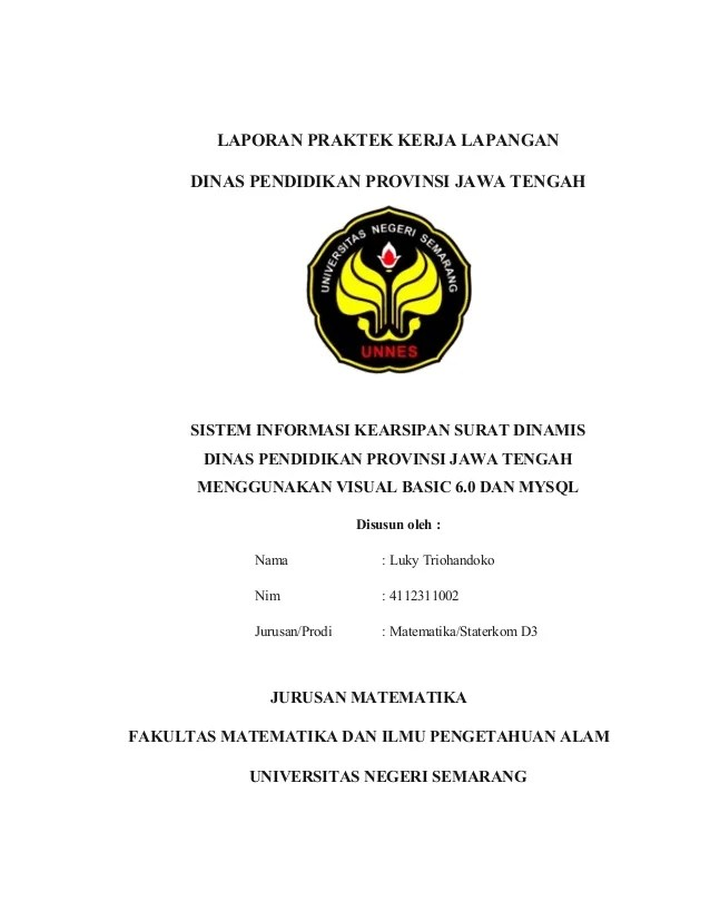 Contoh Laporan Kunjungan Industri Jurusan Tata Busana Modif N Cute766